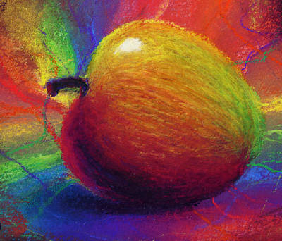 Metaphysical Apple Art Print by Kd Neeley