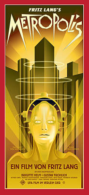 Painting - Metropolis by Gary Grayson