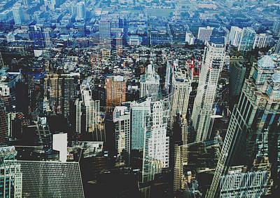 Metropolis Viii Art Print by David Studwell