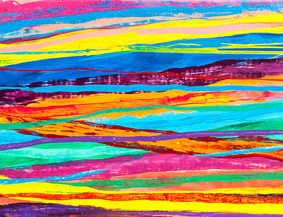 Chromatic Painting - Mexicali by Terry Pakish