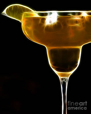 Mexico Gold . Lime Margarita Art Print by Wingsdomain Art and Photography