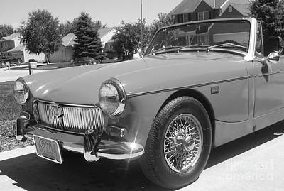 Photograph - Mg Midget by Neil Zimmerman