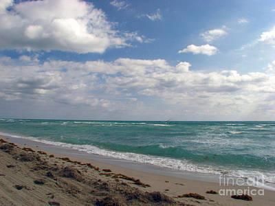 Florid Photograph - Miami Beach by Amanda Barcon