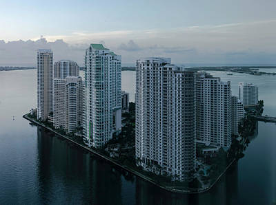 Photograph - Miami Brickell Key by Steven Richman