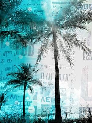 Photograph - Miami Palm Trees by France Laliberte