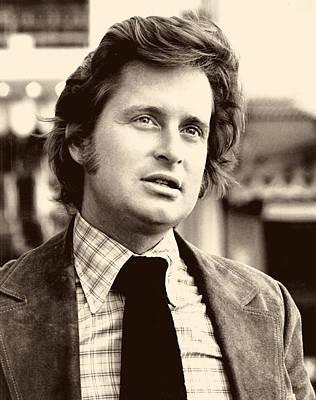 Michael Douglas Photograph - Michael Douglas In Streets Of San Francisco 1975 by Mountain Dreams