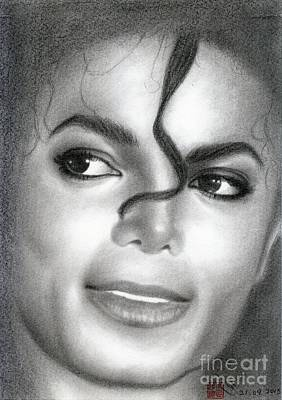 Drawing - Michael Jackson #eight by Eliza Lo
