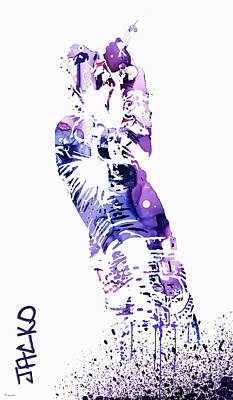 Michael Jackson Art Print by Sir Josef - Social Critic - ART