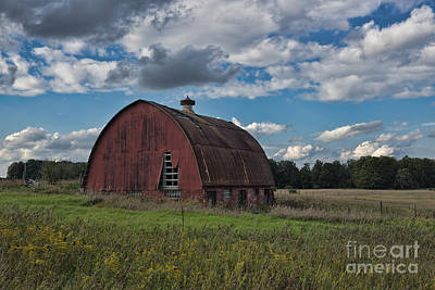 Photograph - Michigan Barn by David Arment