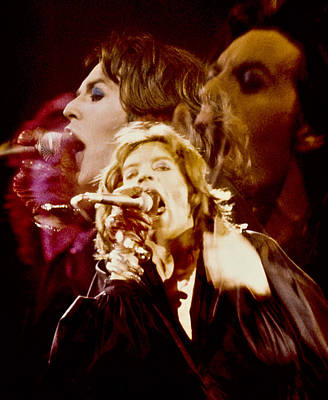 Mick Trio Art Print by Sandy Ostroff