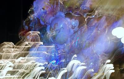 Little Mermaid Digital Art - Mickey Balloons by Rob Hans
