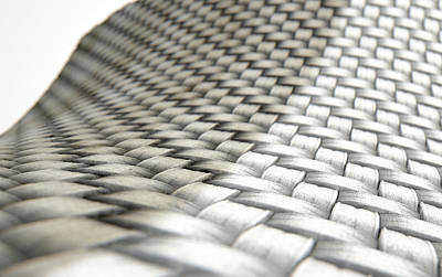 Cloth Digital Art - Micro Fabric Weave Comparison by Allan Swart
