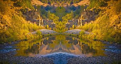 Art Print featuring the photograph Middle Fork Magic 2 by Sherri Meyer