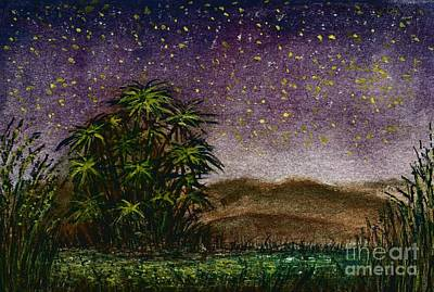 Midnight At The Oasis Art Print