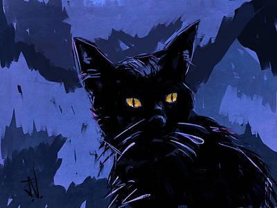 Digital Art - Midnight Rambler by Jim Vance