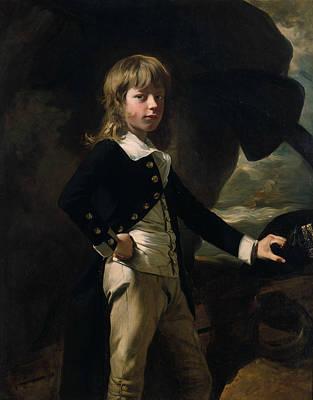 Painting - Midshipman Augustus Brine by John Singleton Copley