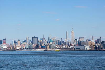 New York Skyline Photograph - Midtown Manhattan by Erin Cadigan