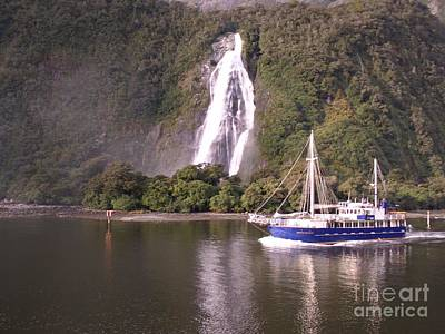Photograph - Milford Sound by Joyce Woodhouse