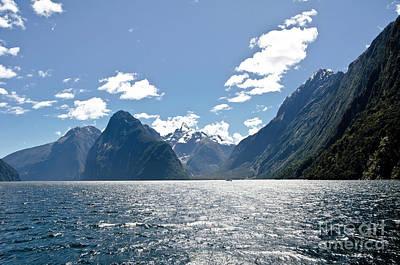 Photograph - Milford Sound, New Zealand by Yurix Sardinelly