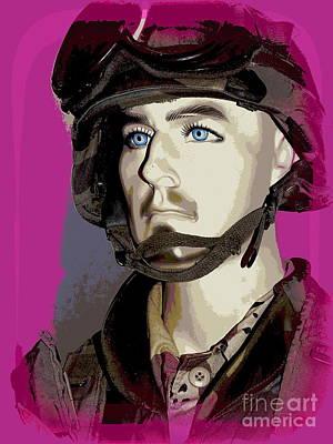 Photograph - Military Man by Ed Weidman