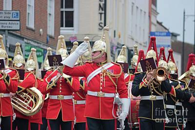 Photograph - Military Parade Dorking Surrey Uk by Julia Gavin