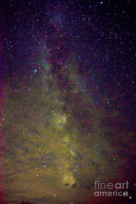 Photograph - Milky Way by Alana Ranney