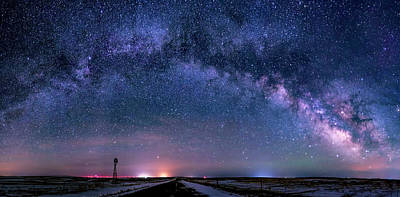 Photograph - Milky Way Panorama by Dawn Key