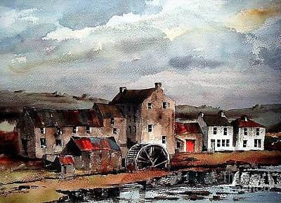 Painting - Mill At Bruree, Limerick by Val Byrne