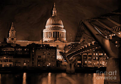 Millennium Bridge - London Original by Gull G