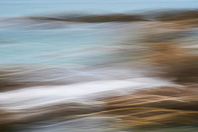 Photograph - Millook Waves Two by Bear R Humphreys