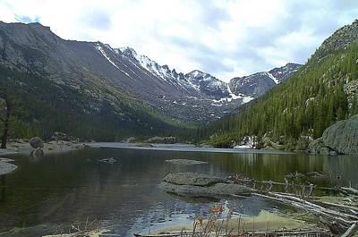Photograph - Mills Lake Longs Peak Rocky Mountain National Park by NaturesPix