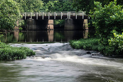 Photograph - Millstone River At Rocky Hill by Steven Richman