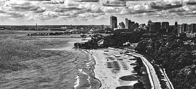 Photograph - Milwaukee On The Shores Of Lake Michigan by L O C