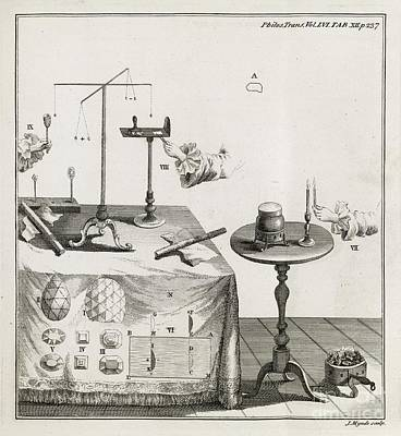 Mineral Properties, 18th Century Art Print by Middle Temple Library