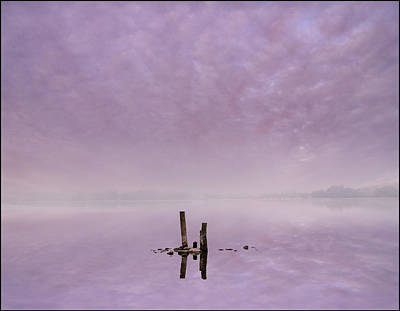 Silver Turquoise Photograph - Minimalistic Dawn by Adrian Campfield