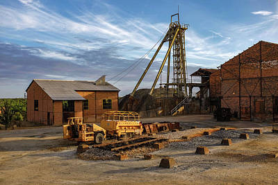 Photograph - Mining Site by Carlos Caetano