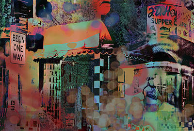Digital Art - Minneapolis Collage by Susan Stone