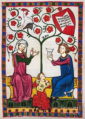 Minnesinger Lieder Art Print by Granger