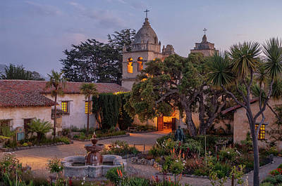 Carmelo Photograph - Mission Church by Christian Heeb