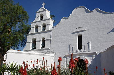 Mission San Diego Art Print