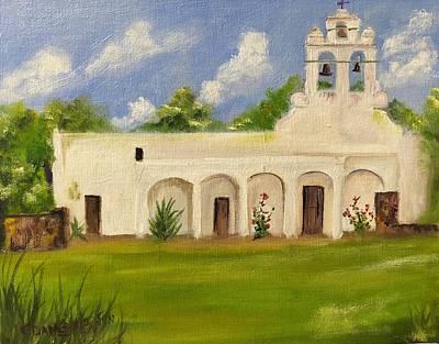 Painting - Mission San Juan by Cheryl Damschen