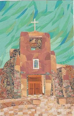 Mission San Miguel Original by Jan Burley Hunt