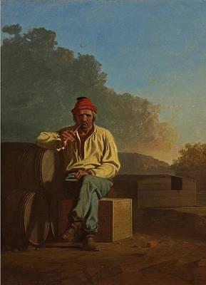 Mississippi Boatman Art Print