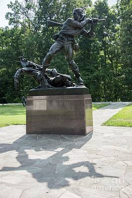 Photograph - Mississippi State Monument  - Gettysburg by David Bearden