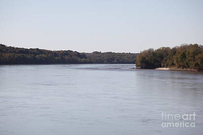 Photograph - Missouri River At Boonville by Kathy Cornett