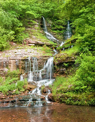 Photograph - Missouri Waterfall by Robert Camp