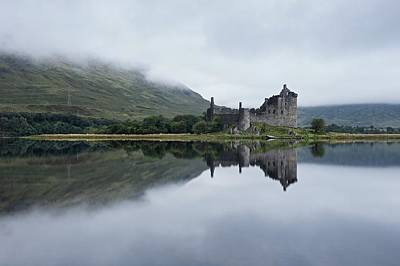 Photograph - Mist At Kilchurn by Stephen Taylor
