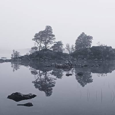Photograph - Mist On Rannoch Moor by Stephen Taylor