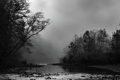 Photograph - Mist On The River by James Barber