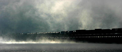 Photograph - Misty Crossing by Marie-Dominique Verdier